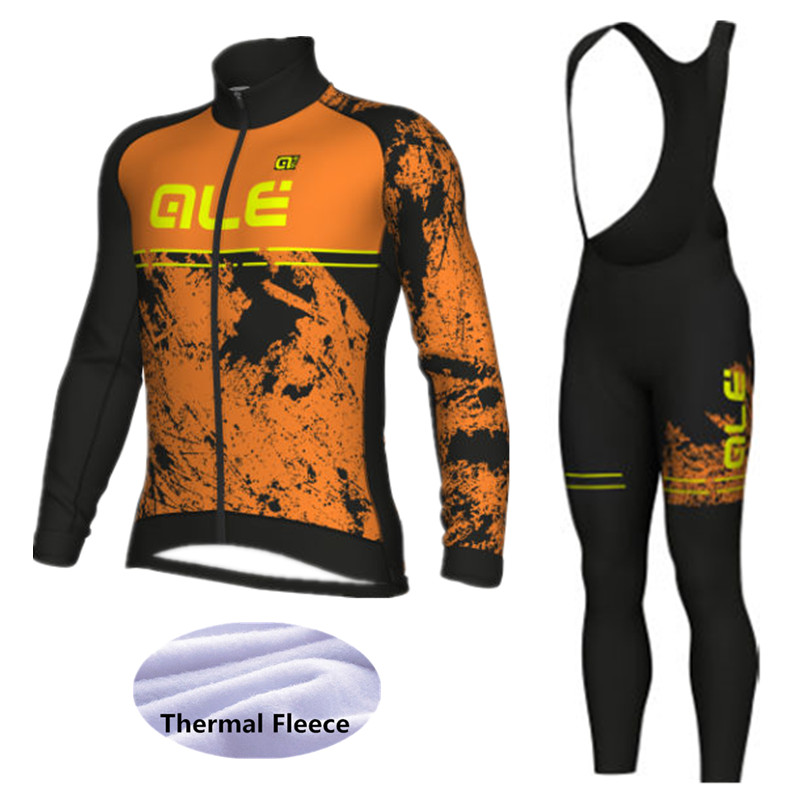 FUQVLUN Cycling clothing Winter thermal fleece 2018 ALE cycling jersey long mtb ropa ciclismo bike cycling clothes -77T6 st peter s golden ale