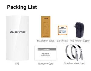 Image 5 - COMFAST CF E130N 1KM 300Mbps 2.4Ghz Outdoor Mini Wireless AP Bridge WIFI CPE Access Point 5dBi WI FI Antenna Nanostation CPE