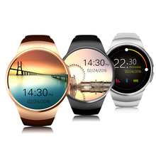 Fashion KW18 Bluetooth smart watch Support SIM TF Card Fitness wristwatch with Heart Rate Mon for iOS & Android phone