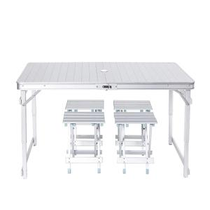 Chairs Folding-Tables Picnic Stall Fishing All-Aluminum Outdoor Beach And Driving-Lift