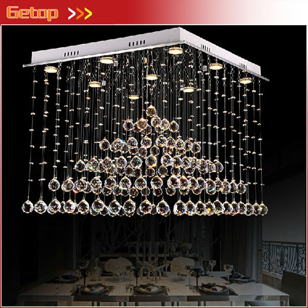 Best Price K9 Crystal Chandelier Luxury Pyramid LED Crystal Light lustres de cristal lustres pendents Lights Fixtures best price 5pin cable for outdoor printer