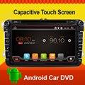2 двойной дин android 4.4 автомобильный gps dvd стерео радио GPS/FM/USB/SD/DVD Для VW passat b6 golf 5 Quad Core RDS 8 дюймов включает canbus