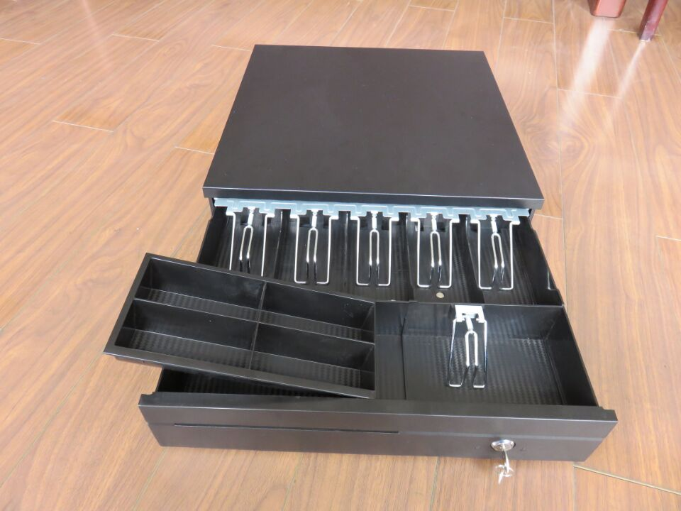 ECD420: 24V Electronic cash drawer with 6 Bill holders and 4 Coins holders