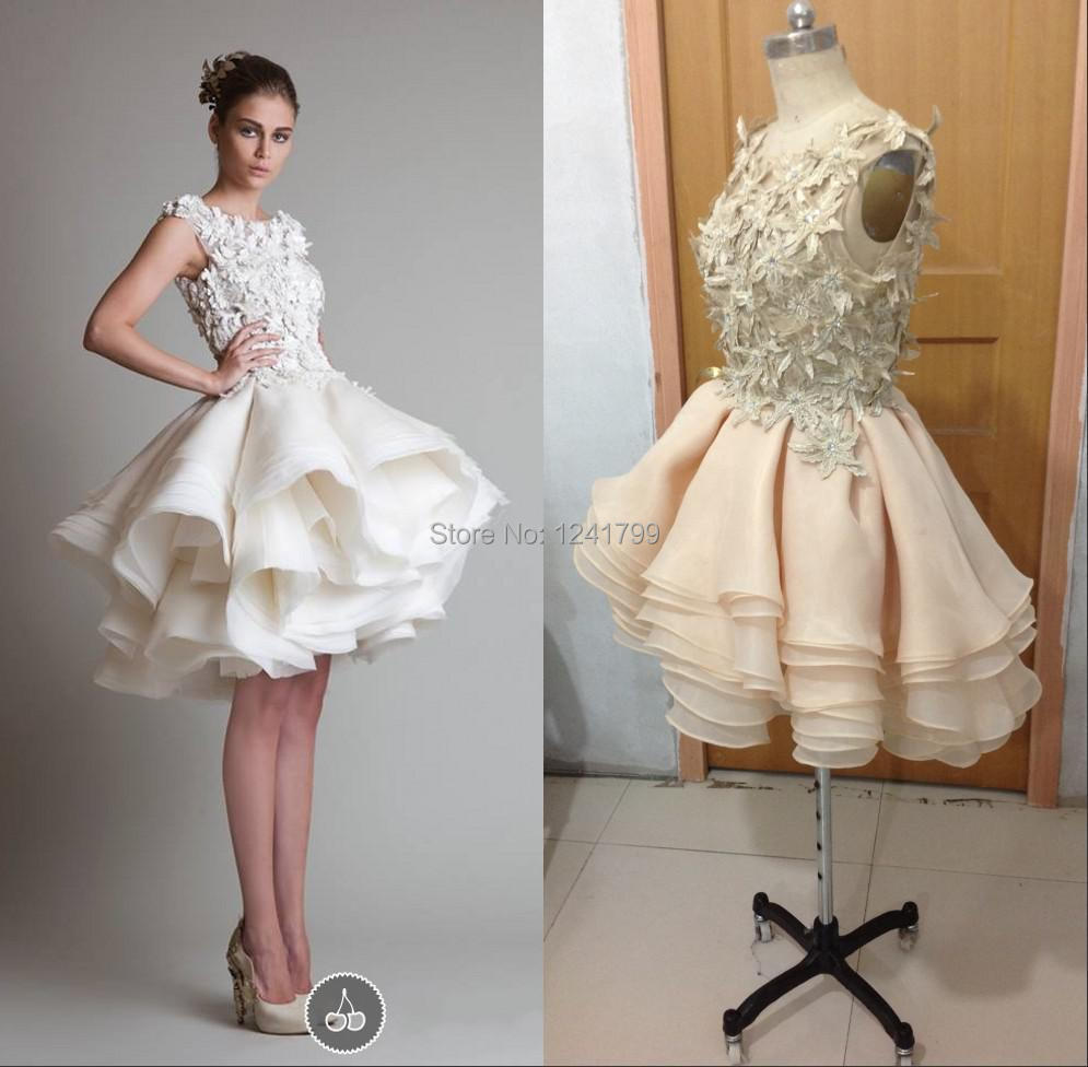 Bridal Gown Y Cute Real Picture Organza Zuhair Murad With