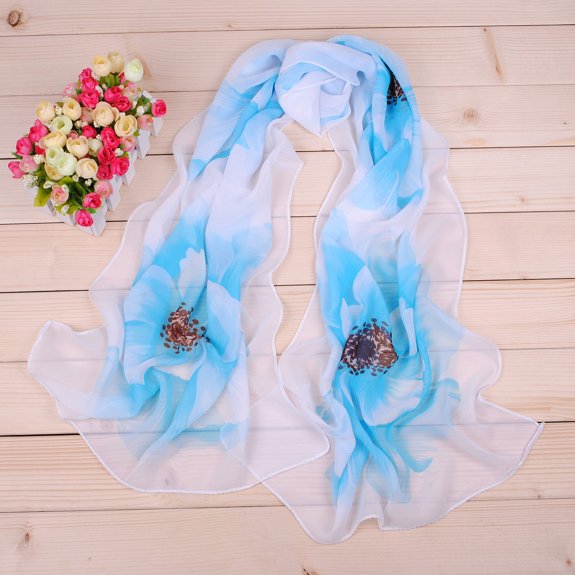 Spring Silk   Scarf   Fashion Accessories Elegant Organza   Scarf     Wrap   Lightweight Long   Scarves   designer   scarf   women luxury 2019