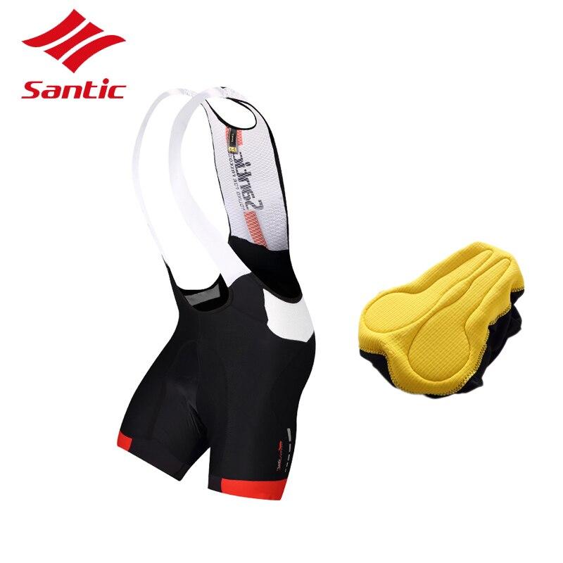 Santic Bike Bicycle Shorts Pro Padded Men Road Racing Downhill Cycling Shorts Cuissard Velo 2018 Pantalones Cortos Ciclismo
