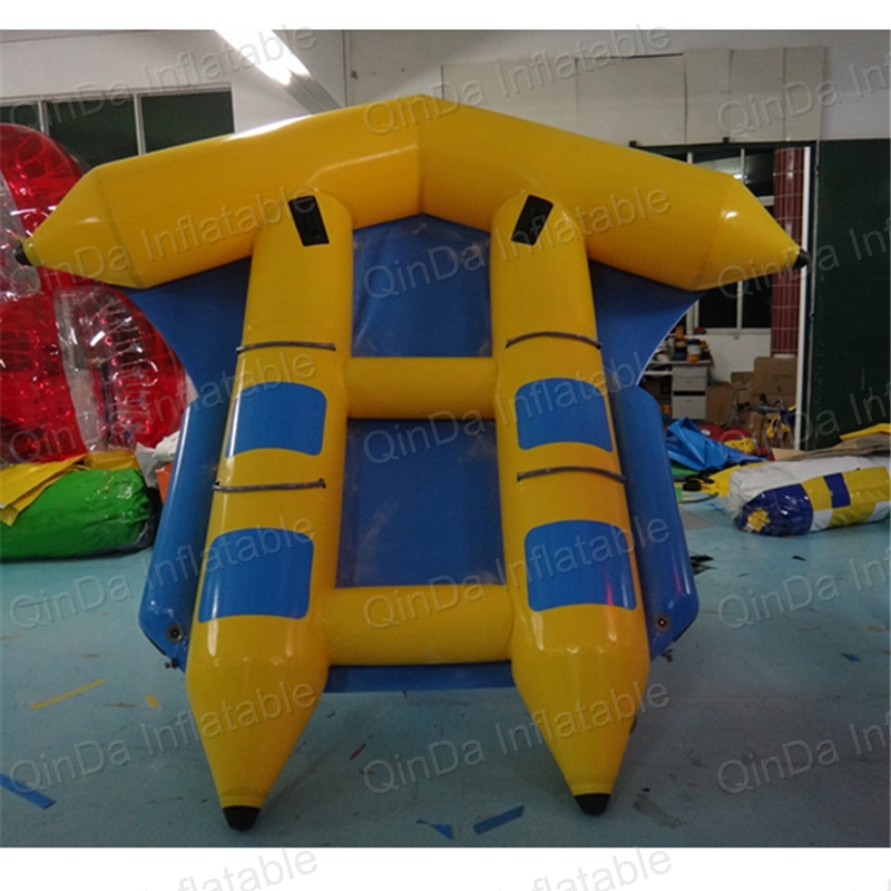 Double-Fishing-Kayak Tude 8 Flying Boat Wave Surfing Water Tubes Inflatable Flying Toward Inflatable Toy flying banana boat wave surfing flying mantaray inflatable boat inflatable flying toward water sport toy