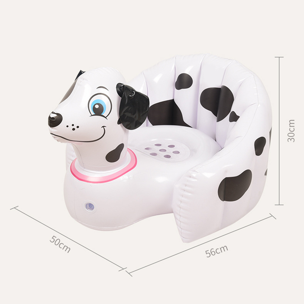 Portable Baby Kid Children Inflatable Bathroom Sofa Chair Seat Learn