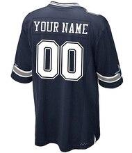 f5d363e9f Personalizado Dallas Camisa Cowboy Dak Prescott Ezequiel Elliott Sean Lee  Jason Witten camisa Dez Bryant Futebol Americano Feito.