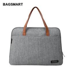 BAGSMART Новая мода нейлон Для мужчин 14-дюймовый ноутбук сумка известный бренд сумка Курьерские сумки Повседневная сумка для ноутбука