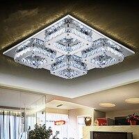 K9 Modern LED Crystal Ceiling Light Lamp With 12 Lights Home Lighting Lustres De Cristal Free