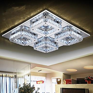 K9 Modern LED Crystal Ceiling Light Lamp For Home Lighting Lustres De Cristal Living Room Light цена 2017