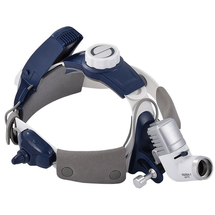 Professionnel Phare Chirurgicale KD-202A-7 Médical lumière led rechargeable Dentaire phare luminosité Hauteur Réglable 5 W 50000 h