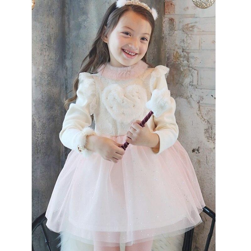 Платье с водолазкой для девочки