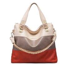 Frauen Arbeiten Handtasche Patchwork Umhängetaschen Handtaschen Frauen Berühmte Marken Weibliche Crossbody Umhängetasche Damen Tote Handtasche
