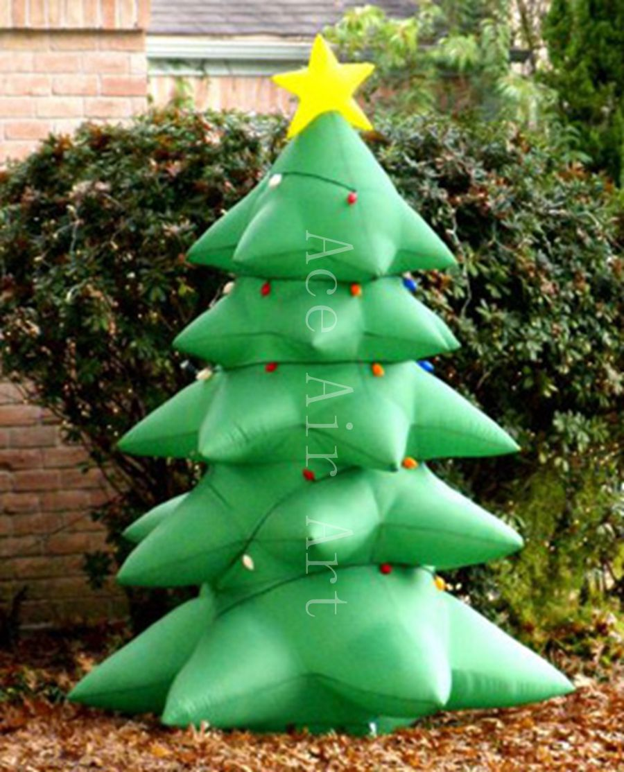Inflatable christmas decorations outdoor cheap - Christmas Tree Inflatable Outdoor Yard Decoration For Decoration Holiday Events