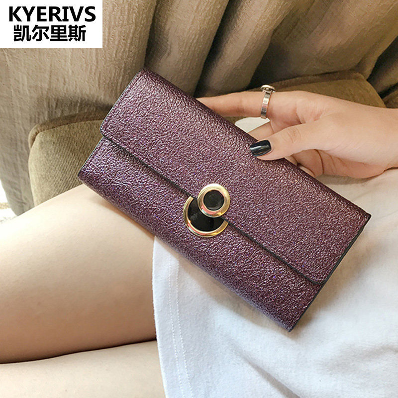 Brand Pu Leather Wallet Women Thin Purse Multiple Cards Holder Long Clutch Bag for Women Gift Fashion Womens Wallets and Purses