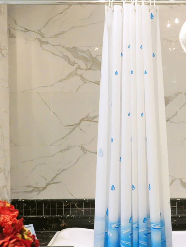 Free shipping shower curtain Waterproof curtain, bathroom partition door window blind