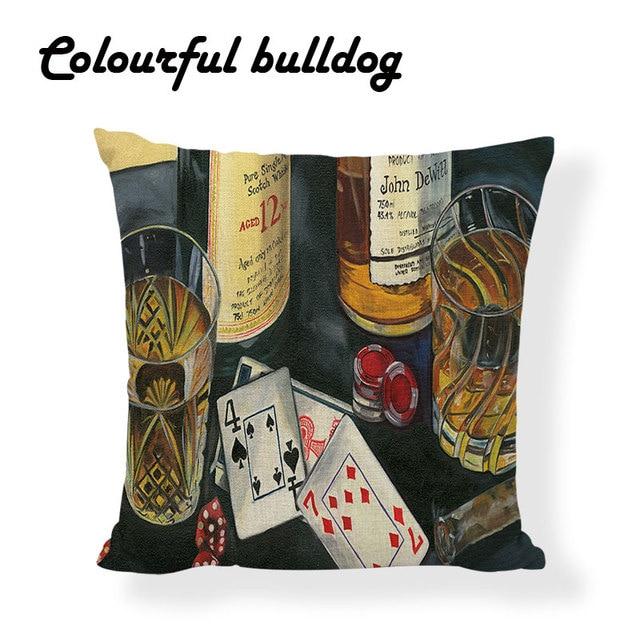 Vintage Bar Cushions 4