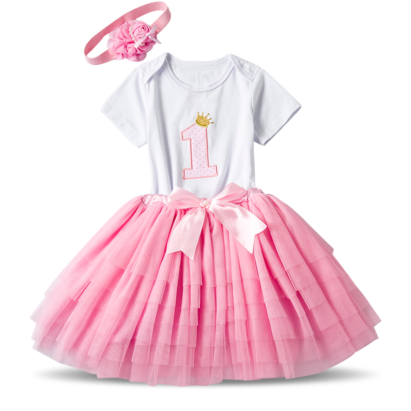 Cute Newborn Baby Girl Clothes Lace Cotton 1 Year Birthday Romper + Skirt + headband 3pcs Outfits Set Summer Infant Tracksuit newborn baby girl clothes cotton 1 year birthday dress short romper dress vestidos toddler shoes socks headband baby clothing