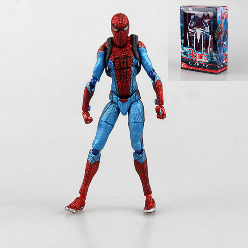 Spider Man Toys : Marvel figma spiderman toys the amazing spider man action