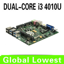2015 New i3 4005u mini motherboard 4005u mainboard industrial mini itx with 1*HDMI,6*USB for 1 lan port