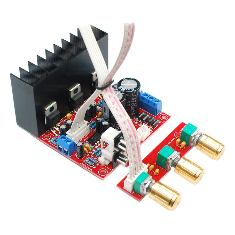 Hot Tda2030A 2.1 Super Bass 2.1 Subwoofer Amplifier Board Three-Channel Speaker Audio Amplifier Board image