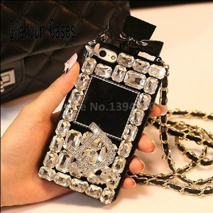 Image 5 - Luxe Bling Crystal Diamond Lanyard Ketting Voor Samsung Galaxy S8 Rand S9 S10 S20 E Plus + Note 8 9 10 Voor Iphone 11 Telefoon Case