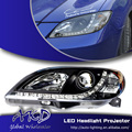 One-Stop Shopping Для Укладки для Mazda3 Mazda 3 СВЕТОДИОДНЫХ Фар Фары СВЕТОДИОДНЫЕ DRL Объектив Двойной Луч H7 HID Ксенона автомобильные Аксессуары