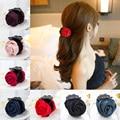 2016 Nueva Marca de Moda de Corea Clips Garras Del Pelo Pinza De Pelo Rosa Accesorios Para el cabello Para Mujeres Niñas Pelo Pinza de Cangrejo Envío Libre Caliente