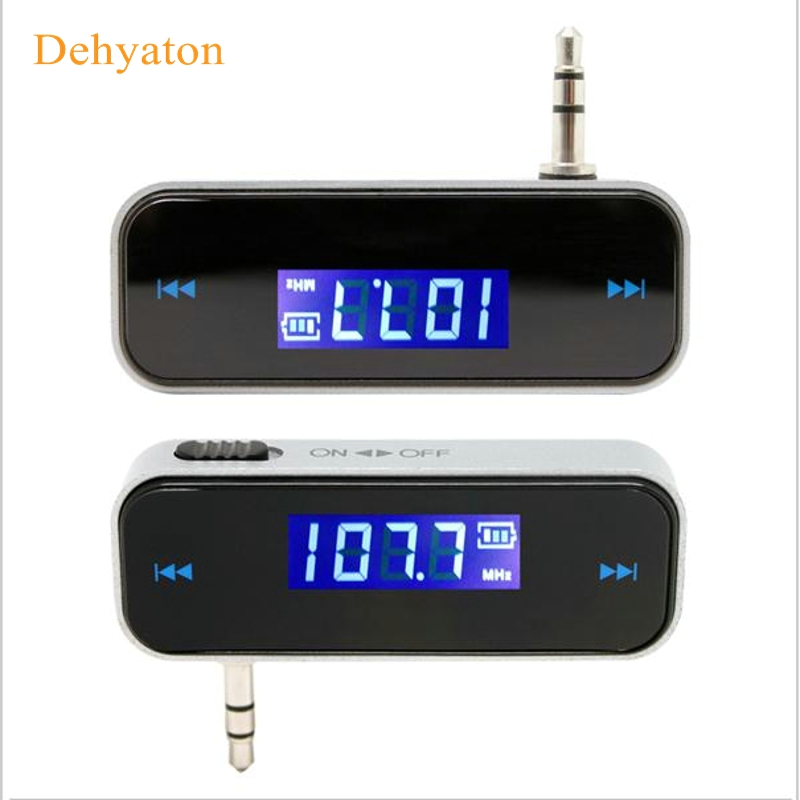 Dehyaton Car FM transmițător pentru telefon inteligent Bluetooth Wireless Player Auto Dispozitive audio Fm Modulator LCD Display Accesorii