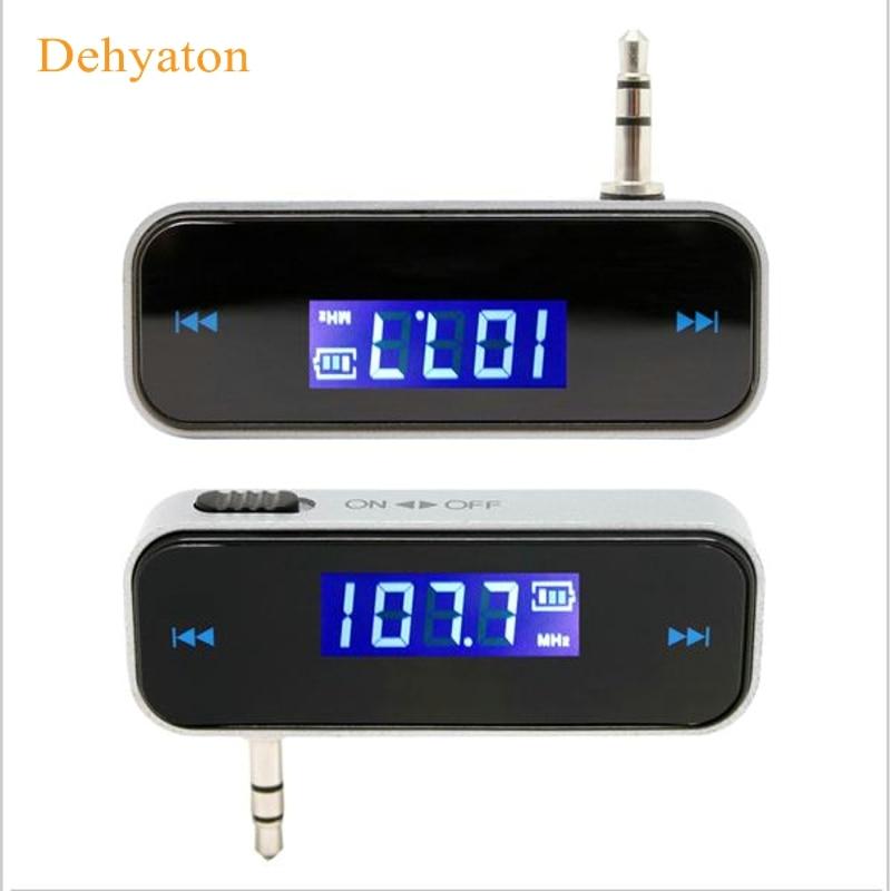 Dehyaton Car FM Transmitter For Smart Phone Bluetooth Wireless