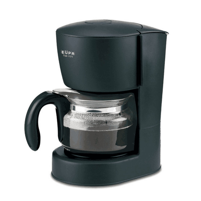 220v Semi Automatic Mini Coffee Maker American Drip Machine For Tea With Filter
