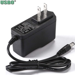 Black 5.5*2.5mm 5.5*2.1mm 5V6V7V7.5V9V12V 0.6A 1A 1.5A 2A EU Speaker Sphygmometer AC Power Switch Adapter DC Adaptor Charger