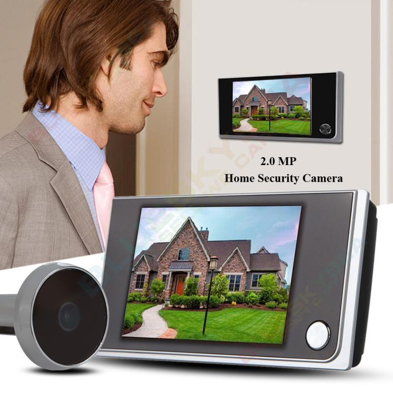 Free shipping!3.5LCD Digital Peephole Viewer Doorbell Angle Door Eye Video Camera 520A квадрокоптер dji phantom 3 professional