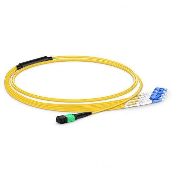 5m MPO Patch Cable Female to 6 LC UPC Duplex 12 Fibers Patch cord 12 Cores Jumper Single Mode 5m MPO Patch Cable Female to 6 LC UPC Duplex 12 Fibers Patch cord 12 Cores Jumper Single Mode
