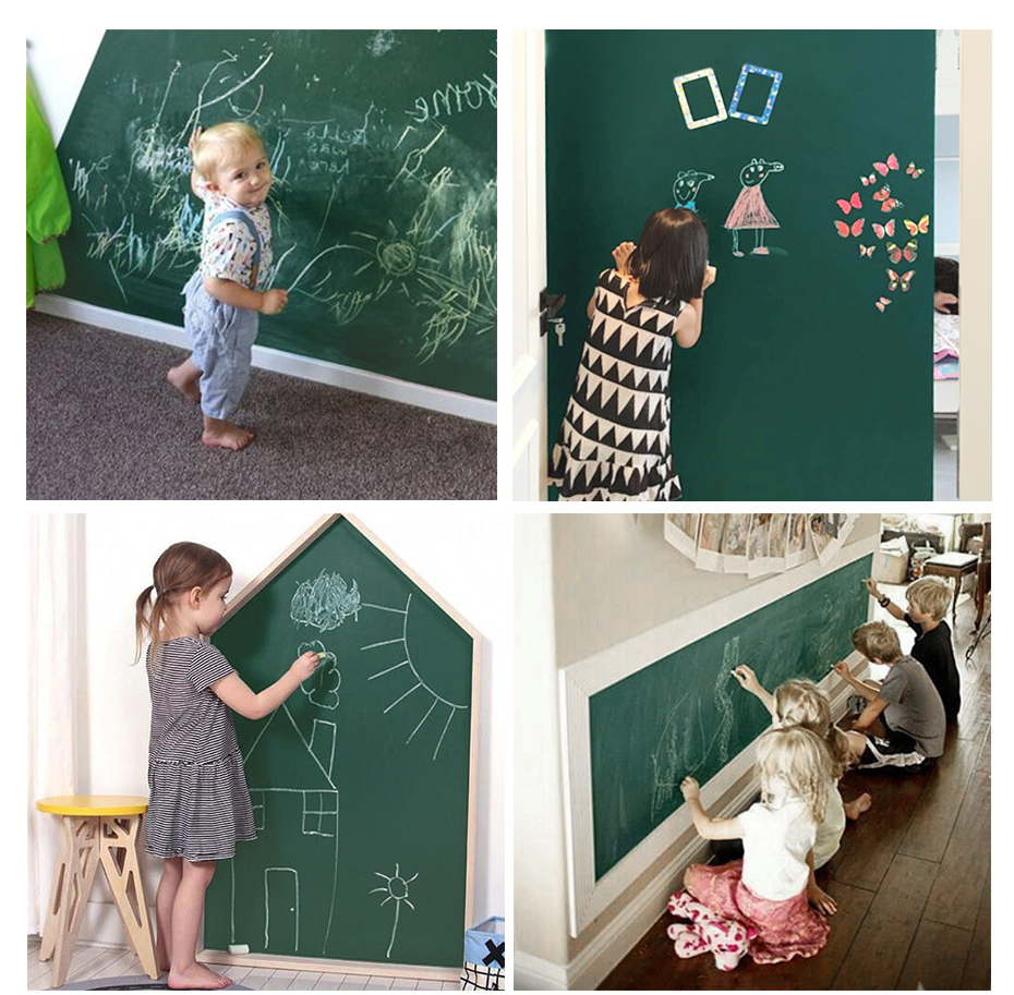 Green Drawing Board Toys Removable Erasable Drawing Graffiti Writing Learning Message Chalk Board Toy Kids Child Teaching Aids_13