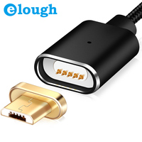 Elough E03 Magnetic Cable Magnetic Charger Micro USB Cable For Xiaomi HTC Android Mobile Phone Charge Magnet Microusb Cable Wire