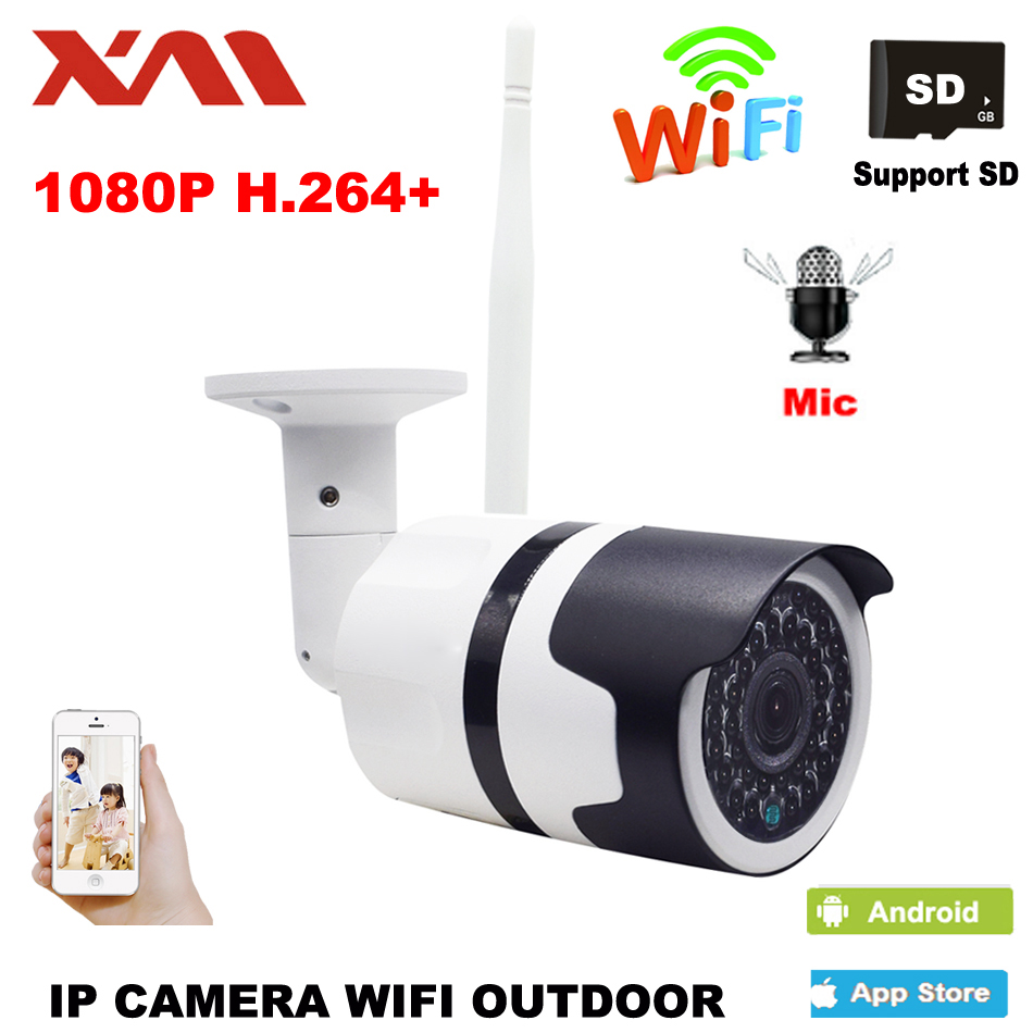 1080 P Outdoor Wasserdicht IP Kamera Wireless Home Sicherheit IP Kamera Überwachung Kamera Wifi Nachtsicht CCTV Kamera 1920*1080