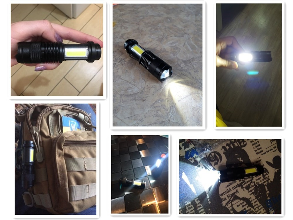 q5 cob flashlight