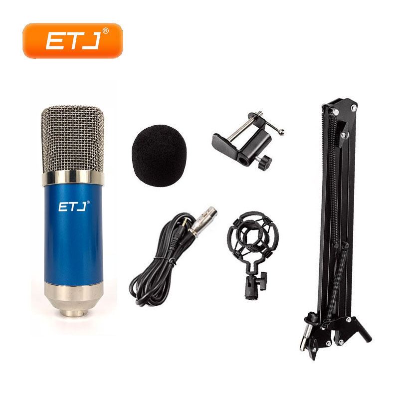 condenser microphone usb microphone studio wired computer microphone stand for karaoke recording. Black Bedroom Furniture Sets. Home Design Ideas