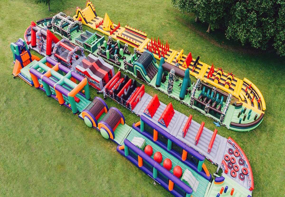 Inflatable Obstacle Playground Inflatable Toys Factory Price стоимость