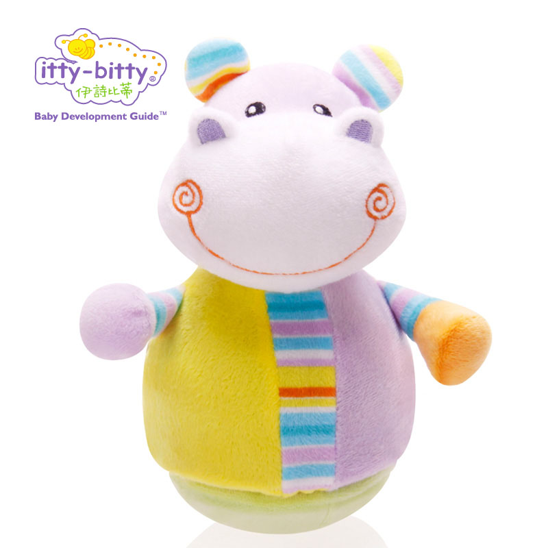 itty-bitty Baby Rattles Tumbler Doll Baby Toys Sweet Bell Music Roly-poly Learning Education Toys Gifts Baby Bell Baby Toys