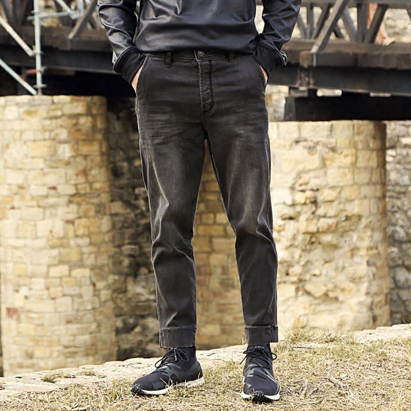Skinny jeans men 2016 new winter slim Jeans Men Black Retro wash old loose jeans brand designer metrosexual man K669 inc international concepts petite new diva wash skinny leg jeans 6p $69 5