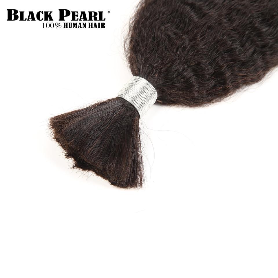Hair Extensions & Wigs Provided Black Pearl Pre-colored Brazilian Hair Weave Bundles Yaki Striaght Human Hair Bulk 1 Bundle Braiding Hair Extensions Braids Hair Hair Weaves