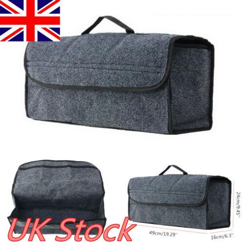 Grey Large Anti Slip Car Trunk Boot Storage Organiser font b Case b font font b