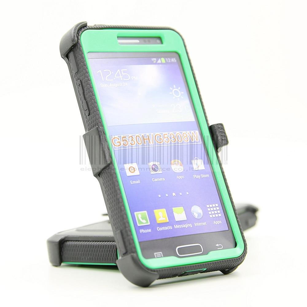 Funda de armadura a prueba de golpes resistente con cubierta de clip - Accesorios y repuestos para celulares - foto 4