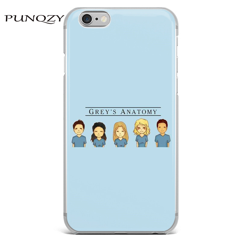 Grey\'s Anatomy TV Show Soft TPU silicone Phone Case For iPhone 6 6s ...