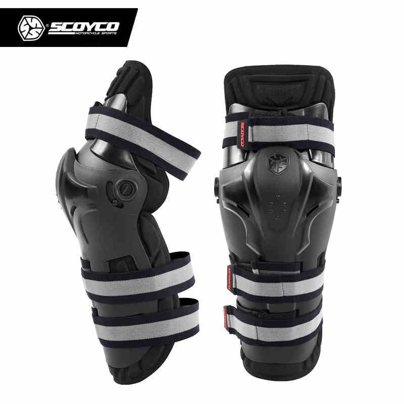 SCOYCO Motorcycle Knee Protector Motocross Off-Road Racing Knee Guards Motorcycle Protective Gear Knee Protector