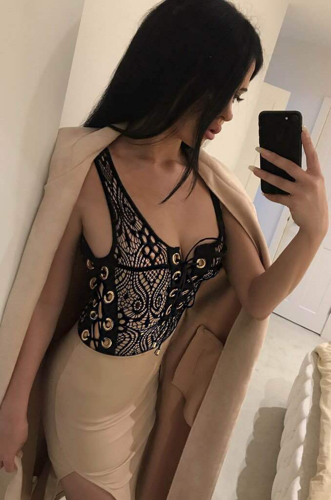 150ca5f567 2017 Tie Up Black White Lace Bikini Swimwear Women One Piece Bathing Suit  2017 Female Bandage Swimsuit 1 PieceSexy Swim Suit -in Body Suits from  Sports ...
